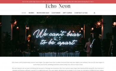 echoneon.com screenshot
