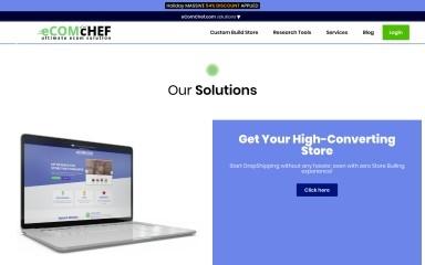 ecomchef.com screenshot