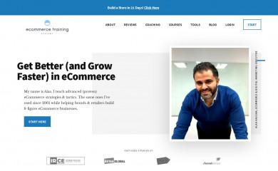 http://ecommercetrainingacademy.com screenshot