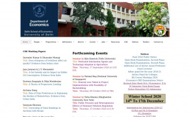 http://econdse.org screenshot