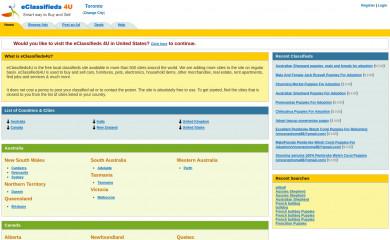 eclassifieds4u.com screenshot