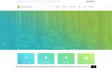 http://eco-nature.cmsmasters.net/ screenshot