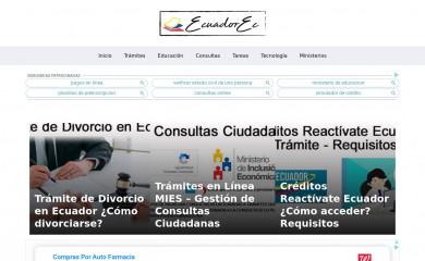 ecuadorec.com screenshot