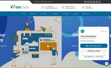 edugyaan.com screenshot
