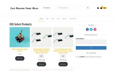 ehomusicgear.com screenshot