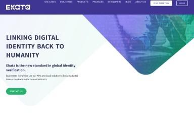 ekata.com screenshot