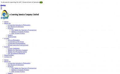 elearningja.gov.jm screenshot