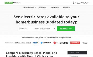 electricchoice.com screenshot