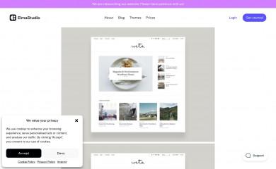 https://www.elmastudio.de/en/themes/weta/ screenshot