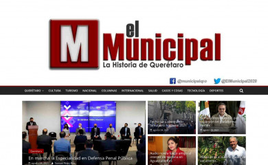 elmunicipalqro.com screenshot