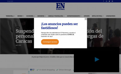 elnacional.com screenshot
