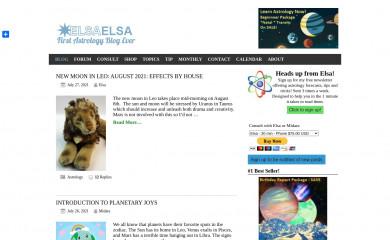 elsaelsa.com screenshot