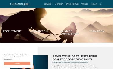 emergences-rh.com screenshot