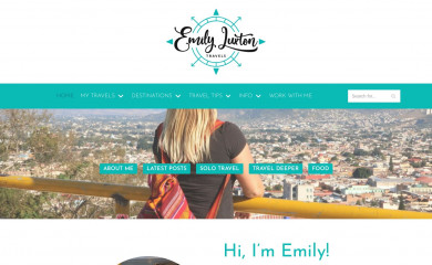 emilyluxton.co.uk screenshot