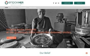 empowherindia.org screenshot