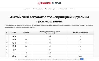 english-alfavit.ru screenshot