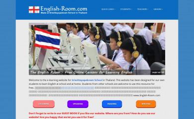 http://english-room.com screenshot