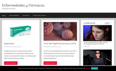 enfermedadesyfarmacos.com screenshot