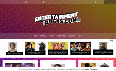 entertainmentrocks.com screenshot