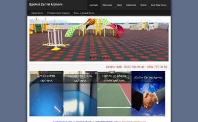 epoksizeminci.com screenshot