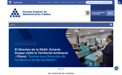 esap.edu.co screenshot