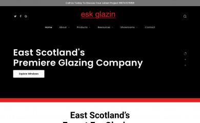 eskglazing.co.uk screenshot