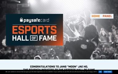 esportshall.com screenshot