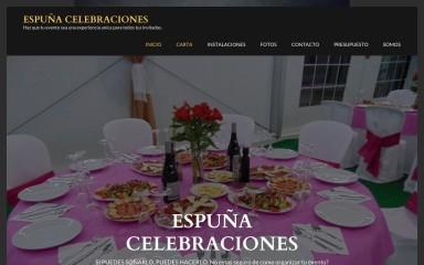 espunacelebraciones.com screenshot