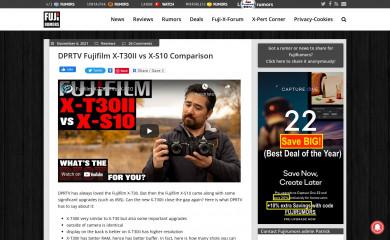 fujirumors.com screenshot