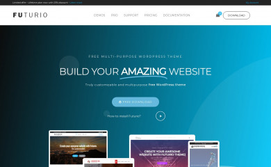 https://futuriowp.com/ screenshot