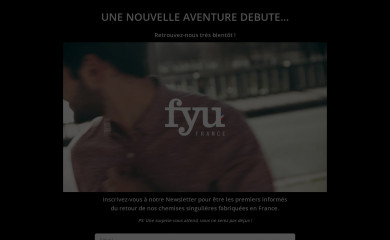 http://fyu-paris.com screenshot