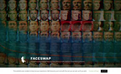 faceswap.dev screenshot