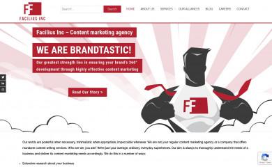 faciliusinc.com screenshot