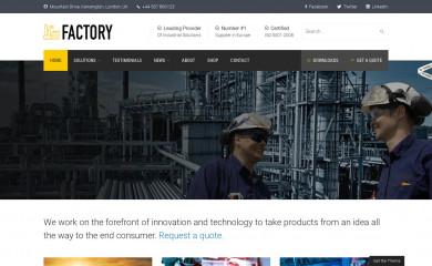 Factory - shared on wplocker.com screenshot