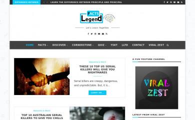 http://factslegend.org screenshot