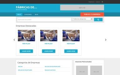 fabricas.de screenshot