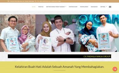 fadhilaaqiqah.com screenshot