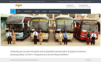 faisalmovers.com screenshot