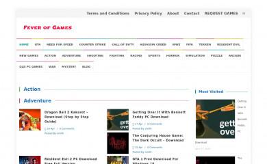 feverofgames.com screenshot