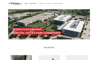 fgmelectronic.com screenshot