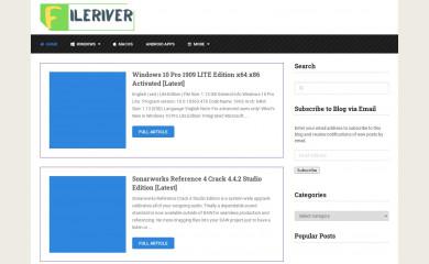 fileriver.net screenshot