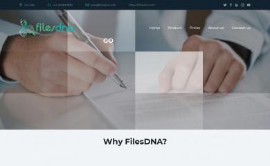 http://filesdna.com screenshot