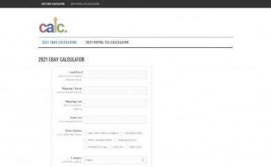 finalfeecalc.com screenshot