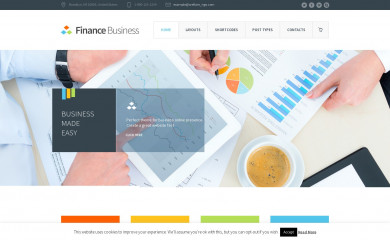 Finance Business screenshot