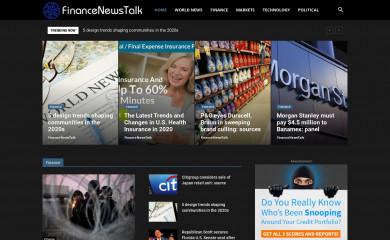http://financenewstalk.com screenshot