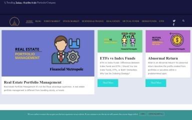 financialmetropole.com screenshot