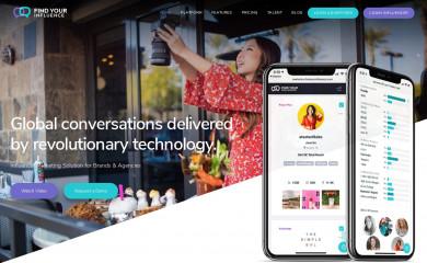 findyourinfluence.com screenshot