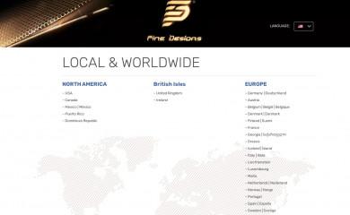 http://finedesigns.com screenshot