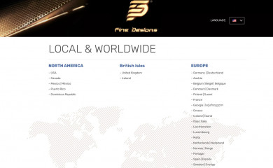 finedesigns.com screenshot