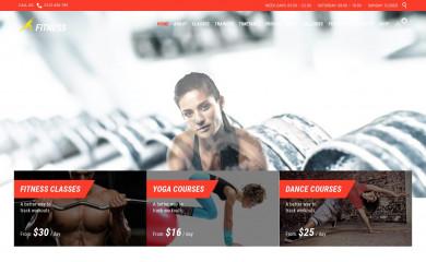 Fitnes, Sport, Gym screenshot